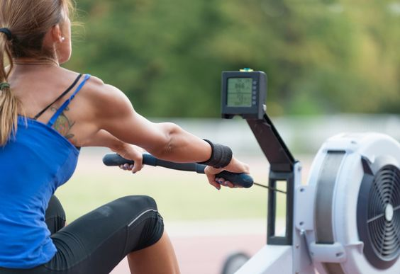 Your fear of the rower ends now. Hop on for a killer strength and cardio sweat session.