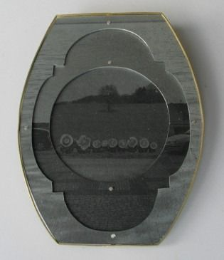 Bettina Speckner - Brooch 2006  Photoetching/Zinc;  Gold 750/000
