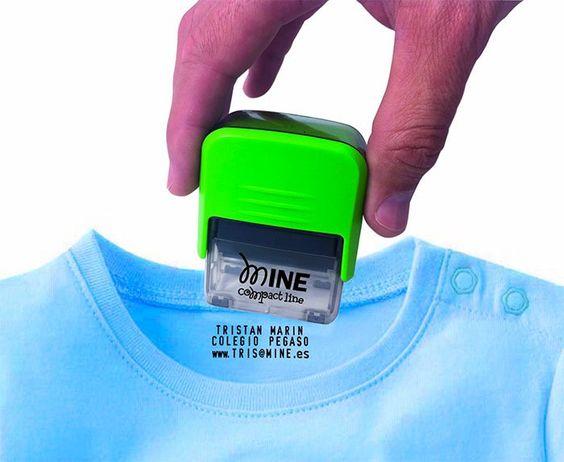 Marcador de ropa con tinta indeleble