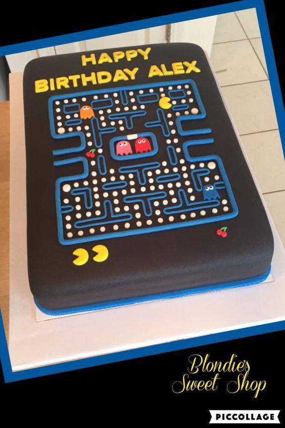 Pac-Man Cake