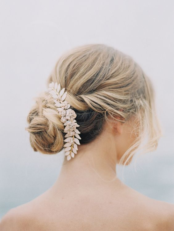 Beautiful bridal hair | Photo by Fine Art Photography |