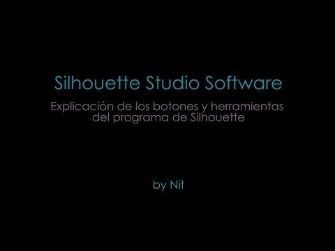 Tutorial del Software Silhouette Studio en Español - YouTube