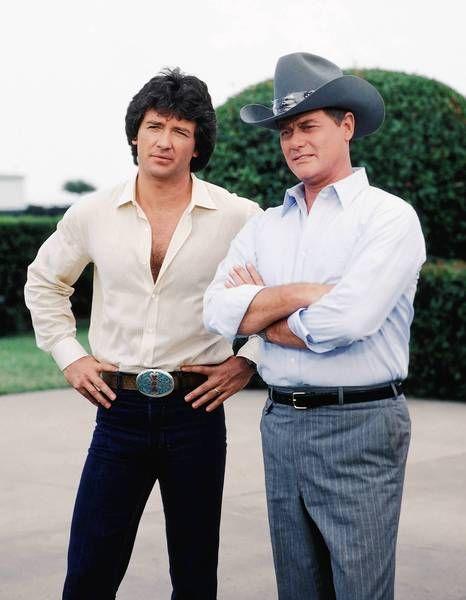 Bobby & J.R. Ewing   Patrick Duffy & Larry Hagman. Brilliant actor Rip JR