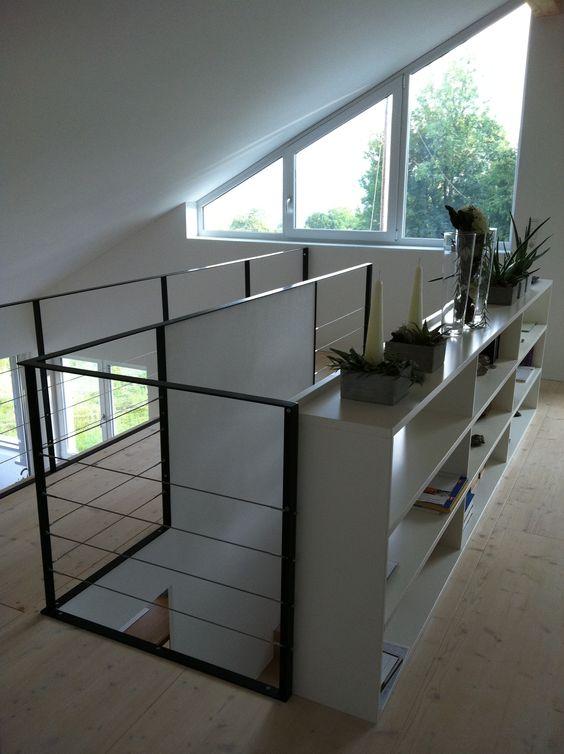 treppengel nder absturzsicherung stauraum treppen. Black Bedroom Furniture Sets. Home Design Ideas