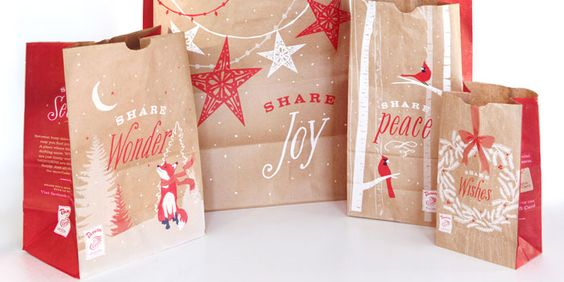 The Panera 2011 Holiday packaging was really beautiful
