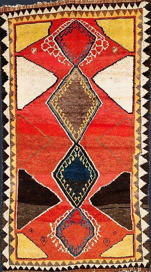 Luri Gabbeh Antique Tribal Perserteppich Poster Von Vicky Brago Mitchell Perserteppich Teppich Bunt Marokkanischer Teppich