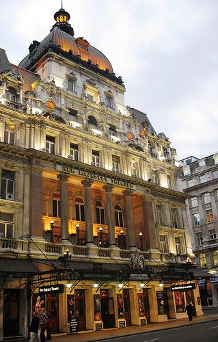 Her Majesty's Theatre is an historic West End Theatre, located in Haymarket, London