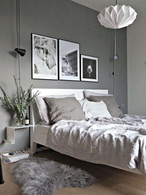 5 idee creative per la parete dietro il letto | Camera da ...