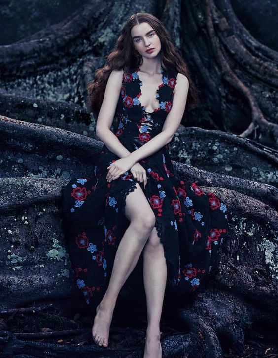 Elie Saab lace and macramé gown, £7,025