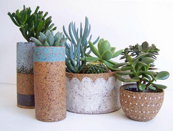 Susan Simonini rustic pottery