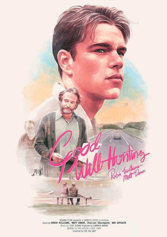 Good Will Hunting 1997 Movie Posters Minimalist Good Will Hunting Movie Poster Wall