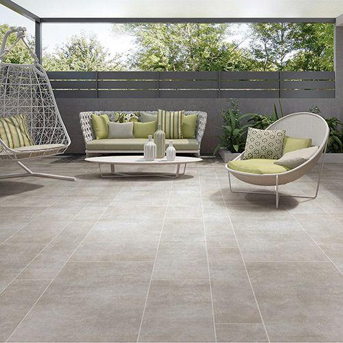 Outside concrete floor