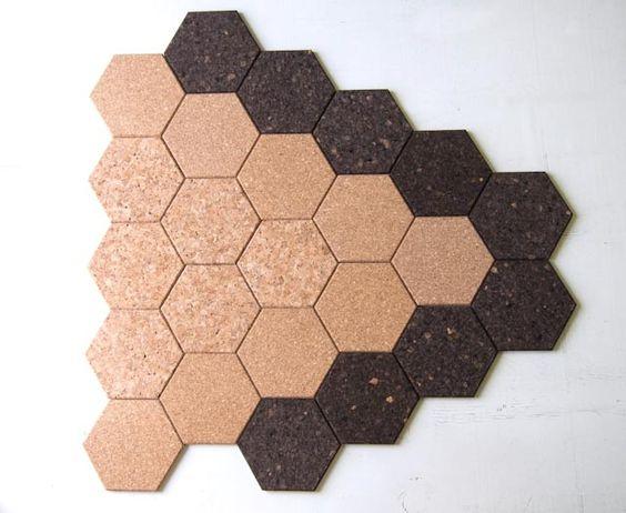 Hexagon Fun Hexagon Shaped Cork Tiles Getcork Pin