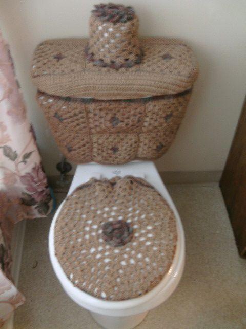 Set de baños tejidos a crochet - Imagui …  Ideas para el ...