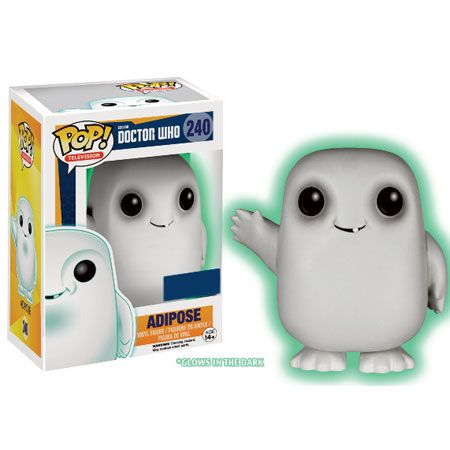 Doctor Who Pop! Vinyl Figures - Adipose Glow in the Dark : Forbidden Planet