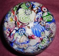 "John Deacons BEAUTIFUL ""END OF DAY MILLEFIORI CASCADE"" PAPERWEIGHT"