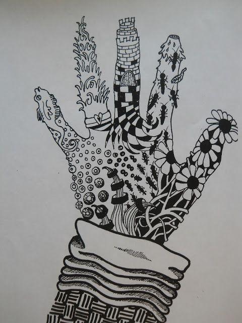 Zentangle Art Ideas Faciles