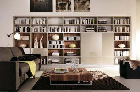 Regal Mega Design Von Hulsta 本棚のデザイン コンテンポラリー