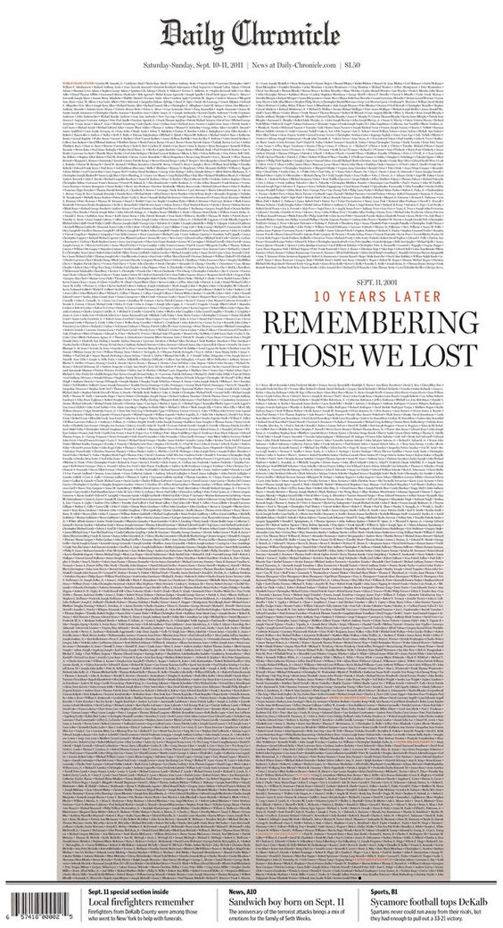 9/11 pages