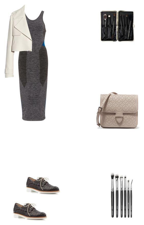 """Grace"" by zoechengrace on Polyvore featuring LNDR, Paul Green, Alaïa, Balenciaga and Bobbi Brown Cosmetics"