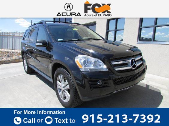 2008 *Mercedes-Benz *MBZ*  *GL-Class* *4.6L*  85k miles Call for Price 85957 miles 915-213-7392 Transmission: Automatic  #Mercedes-Benz #GL-Class #used #cars #FoxAcuraofElPaso #ElPaso #TX #tapcars