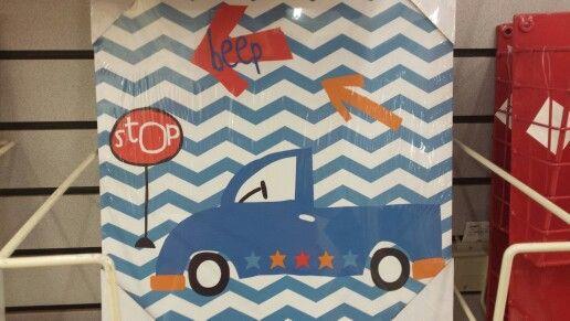 Boys truck wall decorations