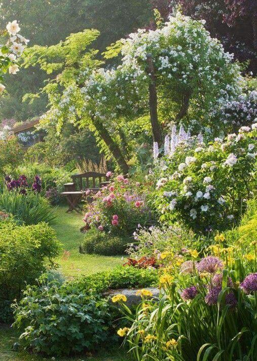 Garten Entspannen In 2020 Beautiful Gardens Cottage Garden Design Garden Design