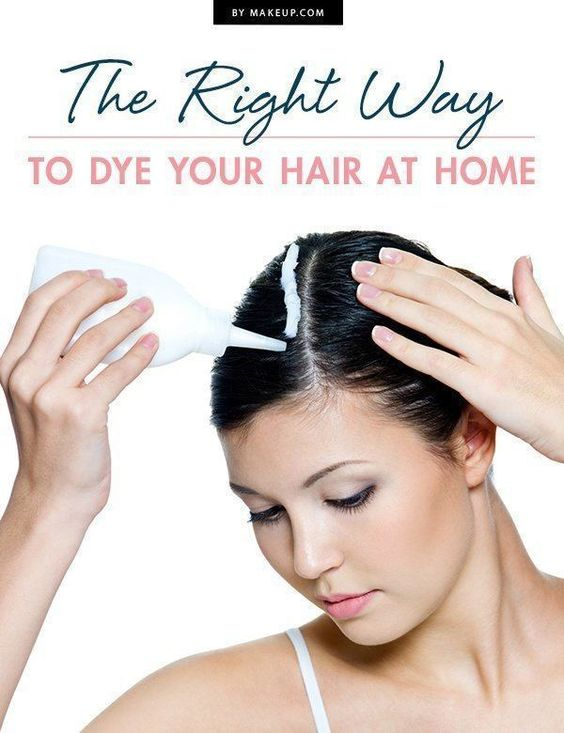 The Right Way To Dye Your Hair At Home  Coloring Hair Down And Hair Dye Tips