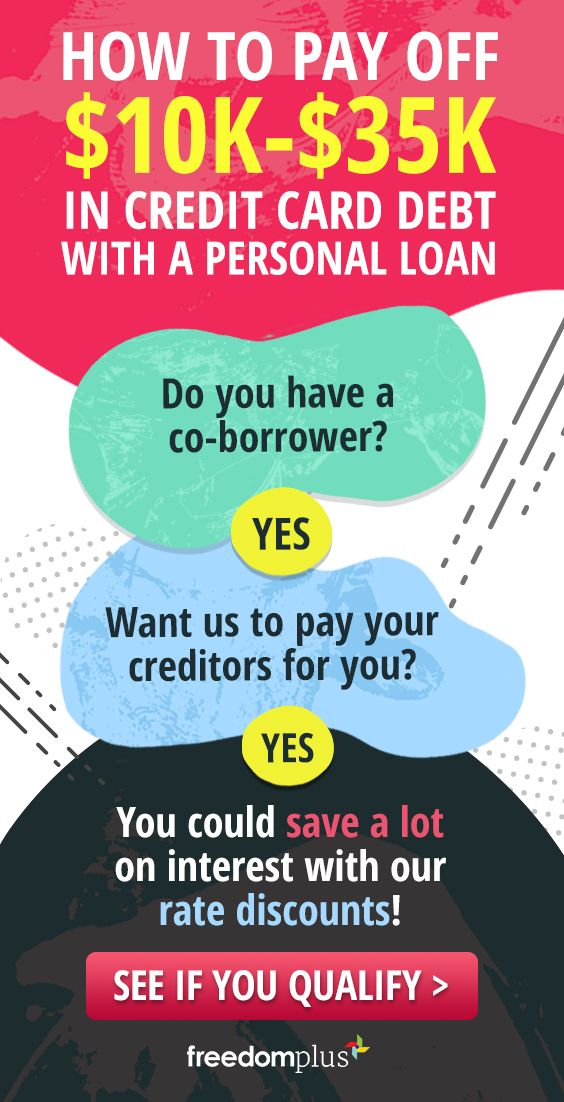 Pay Off Your Credit Card Debt With A Personal Loan You Could Save Thousands On Your Interest With Personal Loans Paying Off Credit Cards Loans For Poor Credit
