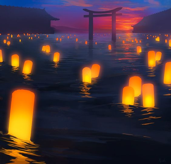 Simple Landscape Sunset