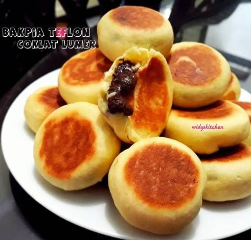 Resep Bakpia Teflon Coklat Lumer Oleh Widy S Kitchen Resep Di 2020 Resep Masakan Coklat Resep