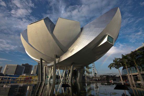 Sự tinh tế từ kiến trúc của bảo tàng.