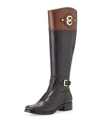 Brown Black Boots