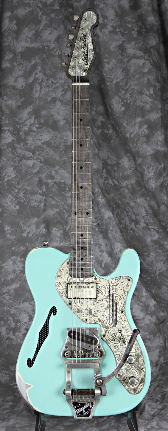JAMES TRUSSART Deluxe Steelcaster | Reverb; but I would want one that had the Humbucker at the bridge and single coil at the neck...I've only seen one guitar made that way and I wanted it, but it was not for sale.