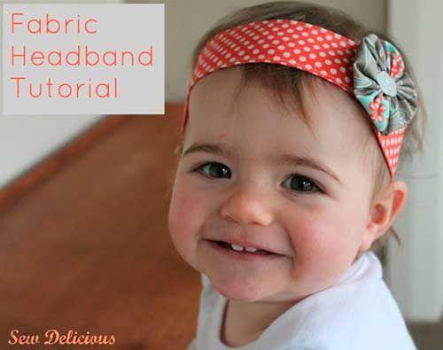 Como hacer diademas para bebés paso a paso. Como hacer diademas para bebés paso a
