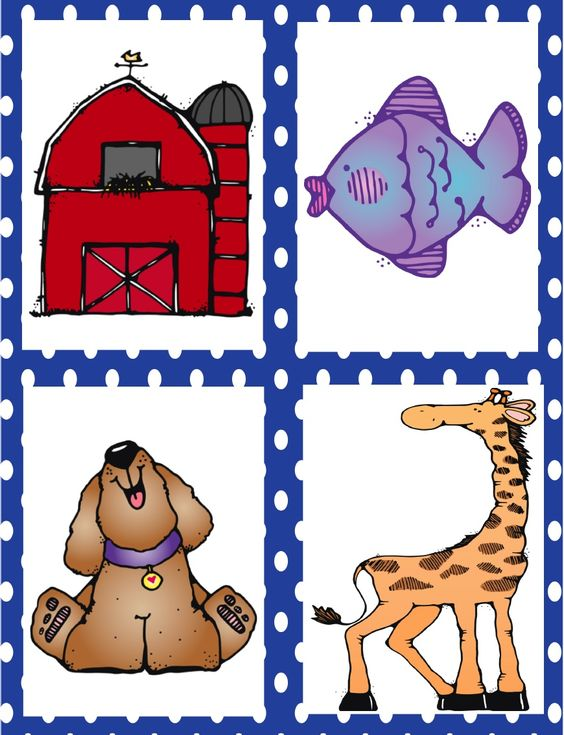 Initial Sound Fluency Picture Cards