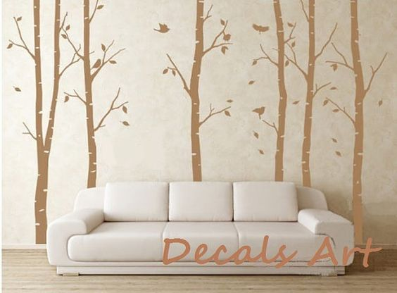 Woods  Vinyl wall sticker wall decal tree decals wall by DecalsArt, $60.00