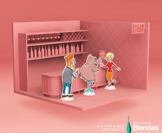 PRINT / Comida - Blendas by Santiago Landaburü, via Behance