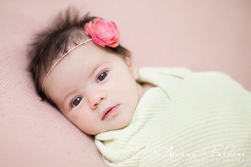 8 Tips for Newborn Shoots with Fussy Babies -- not too many tips, but at least it validates the fact that some babies will only give you 15 minutes