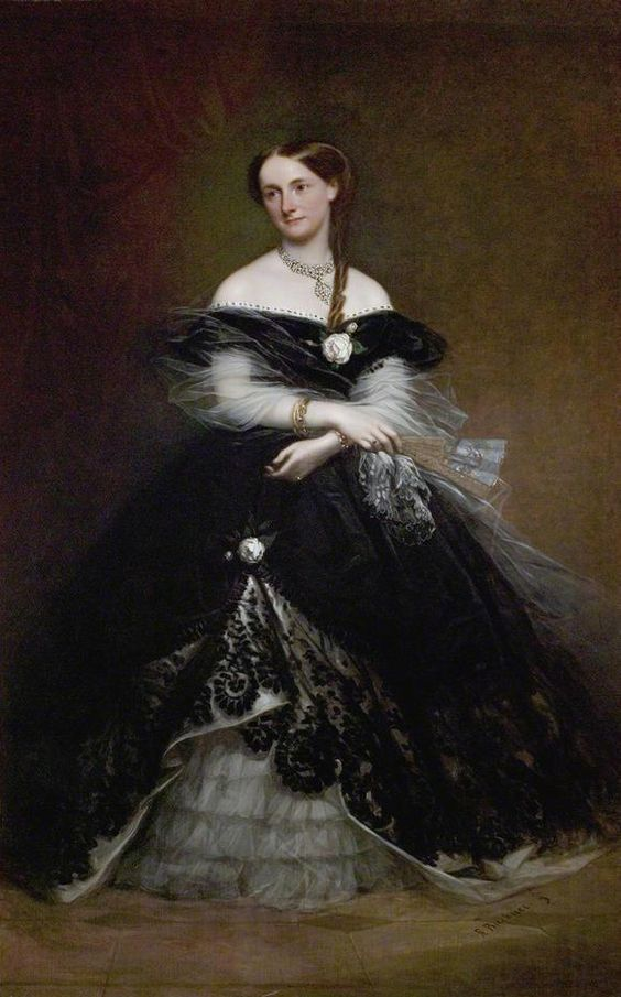 Lady Elizabeth Gilstrap (1822–1891) by Richard Buckner (Newark Town Council - Newark, Nottinghamshire UK)