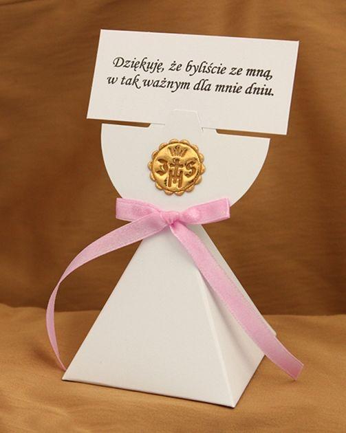 Pierwsza Komunia Swieta Podziekowania Dla Gosci 7115970801 Oficjalne Archiwum Allegro Communion Holy Communion Tableware