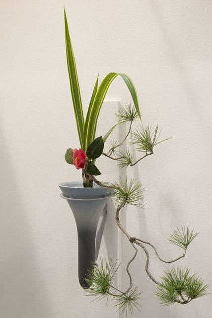 Ikebana japanese flower arrangement 【aif】bonsai