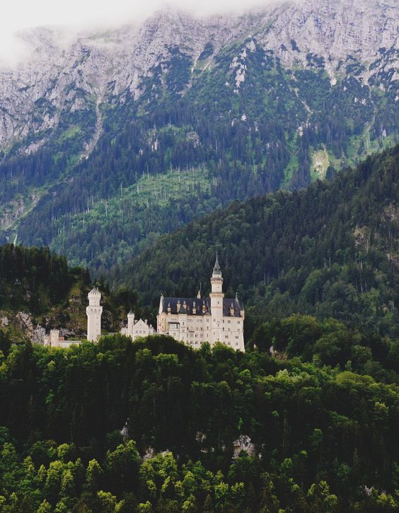 Castillo de Neuschwanstein, Alemania (por Elena Laustsen):