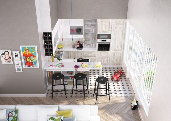 Moderne Keukens Ixina : IXINA cuisine / IXINA keuken Petite cuisine ...