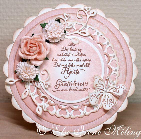 35mm Trellis Rose, Carnations, DT Elsi, Self Adhesive Pearls
