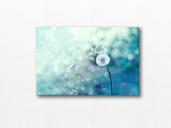 dandelion photography dandelion canvas art 12x12 by mylittlepixels