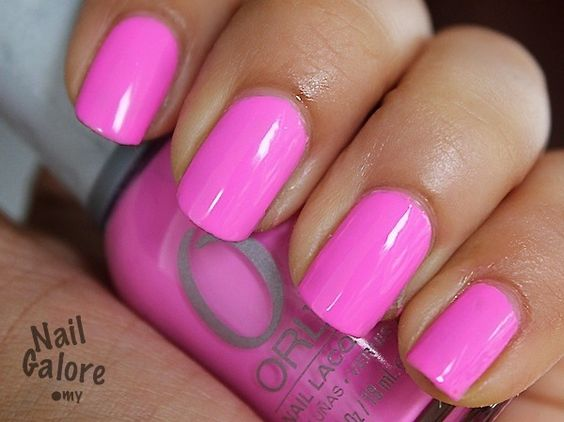 Fancy Fuchsia by Orly...this pic doesnt do it justice...by far the best pink nail polish i have ever purchased!