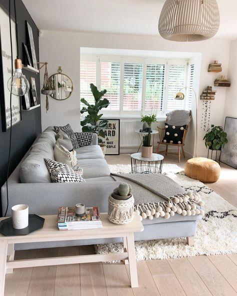 Bright Naturally Lit Design Homedecor Living Room Decor