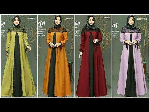 26 Model Baju Gamis Terbaru 2020 Untuk Ramadhan Dan Lebaran Youtube Model Baju Wanita Model Wanita