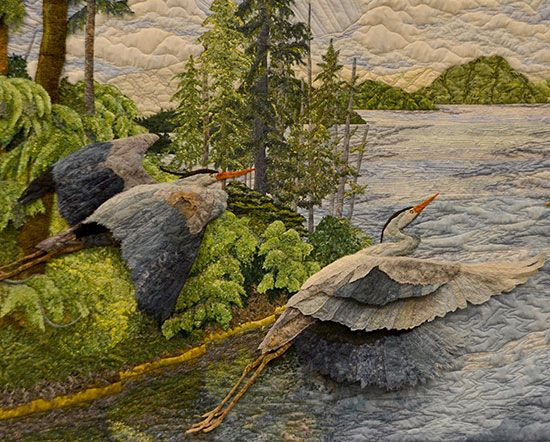 Quilt by Carol Seeley - from Luana Rubin: